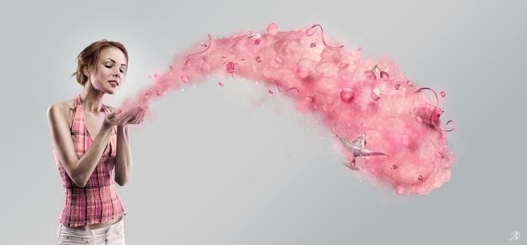 Imagine - Pink - pink, pixie, dust - ainsoph-1435 | ello