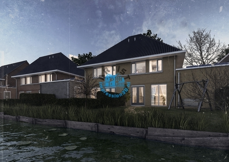 Canal House - 3d, exterior, visualization - artistimpression | ello