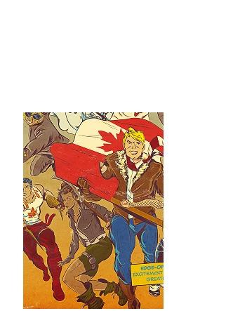 Epic Canadiana - comic, comics, anthology - onedove | ello