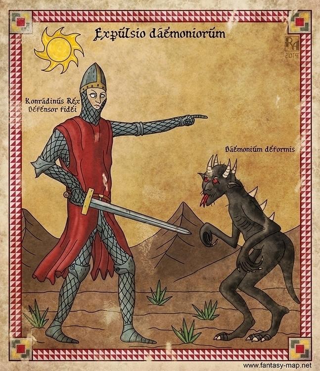 illustration, fantasy, medieval - robertaltbauer | ello