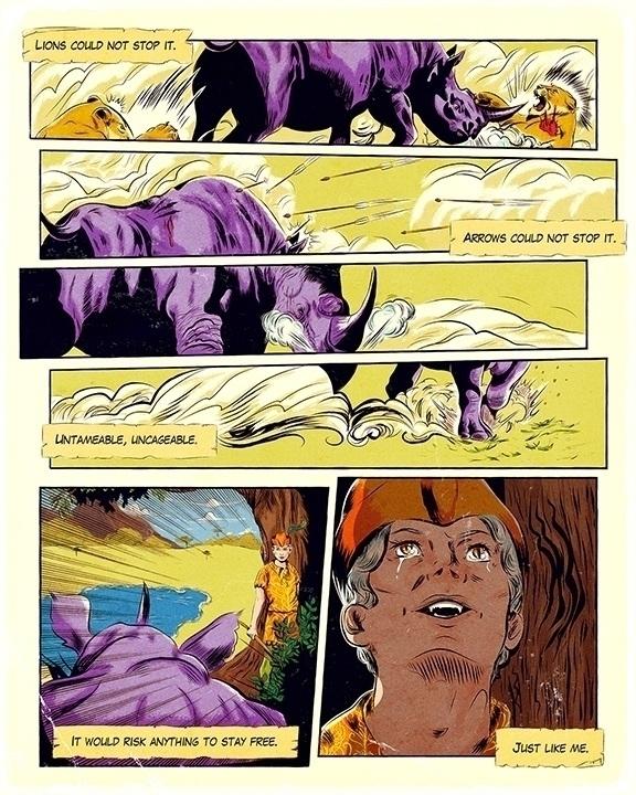 Hunt Unicorn - comic, comics, anthology - onedove | ello