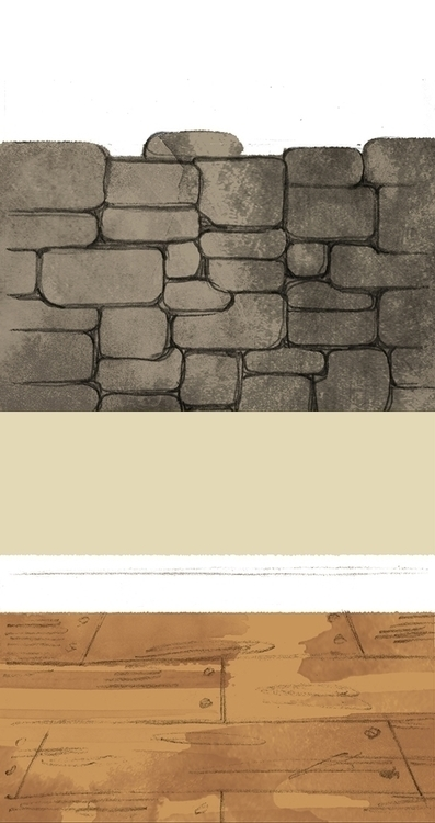 stone, wall, wood, floor - cmouta | ello