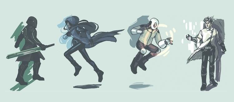 characterdesign - cmouta | ello