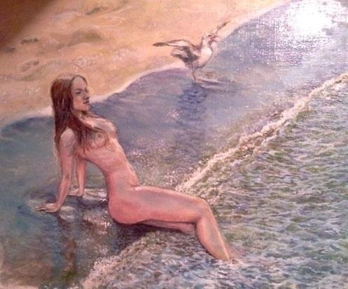 Sea birds - painting - marryana | ello