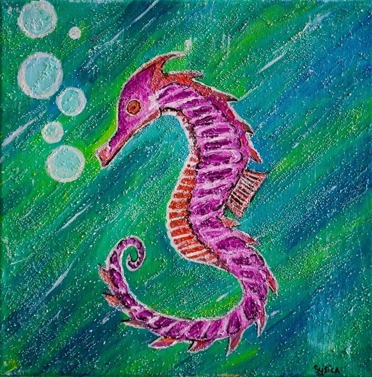 Curious Seahorse - seahorse, sea - sysica | ello