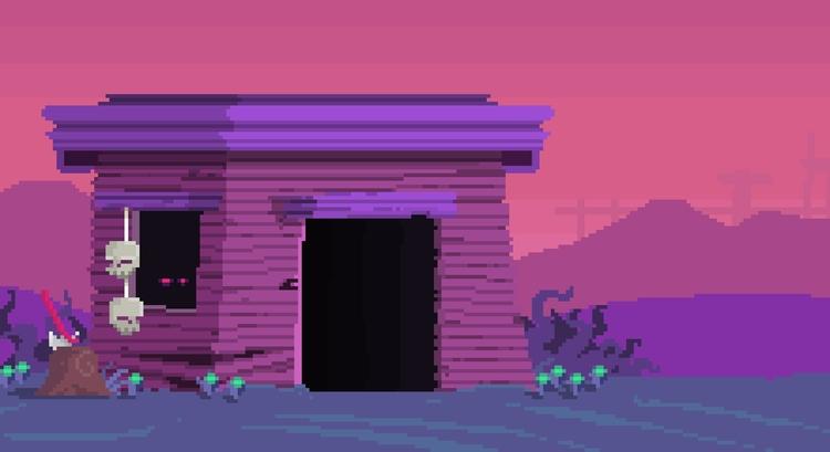 Day 38/365 - Outcast Hut - hut - planckpixels | ello