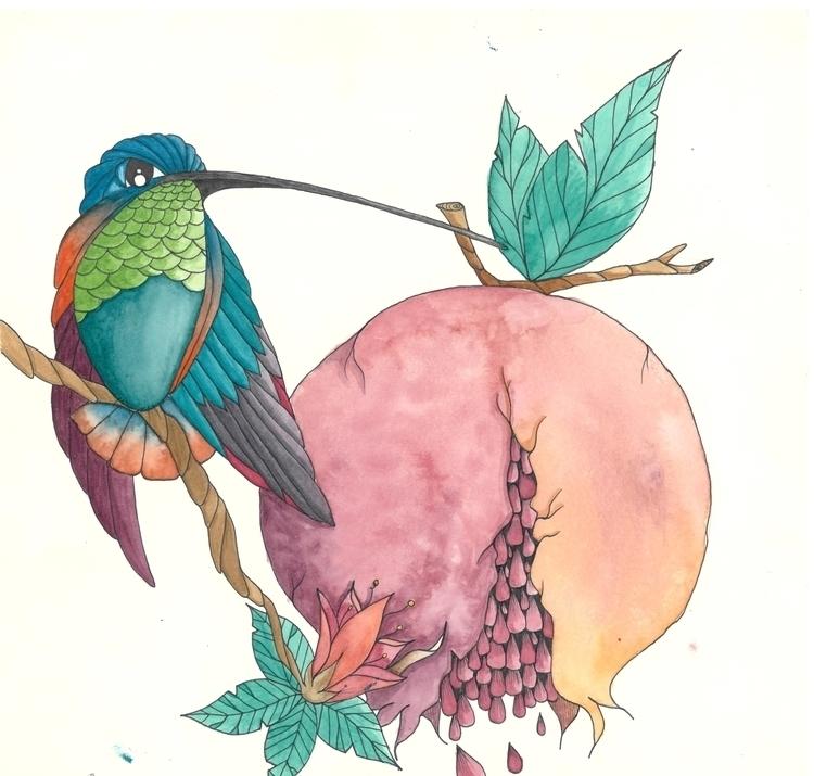 Micro Macro - illustration, painting - ops17 | ello