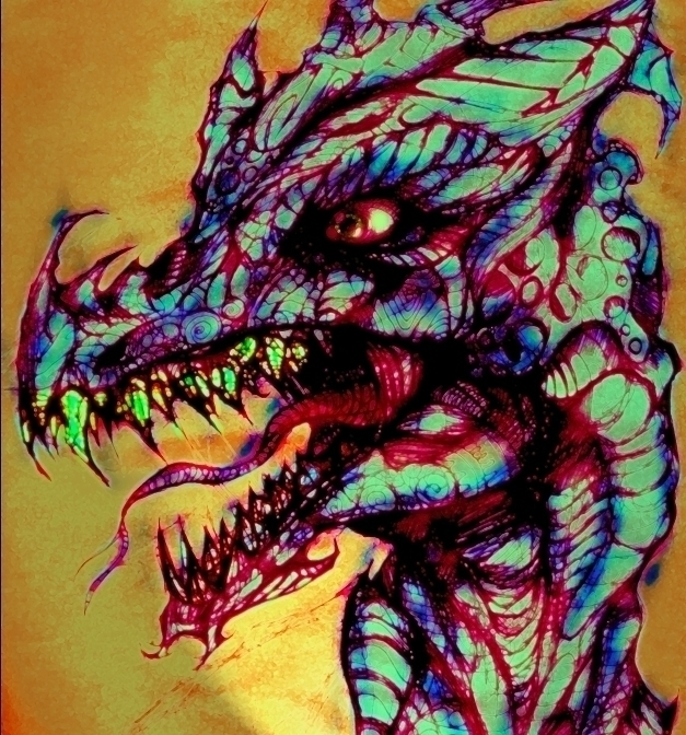 dragon head - jeremieduval | ello