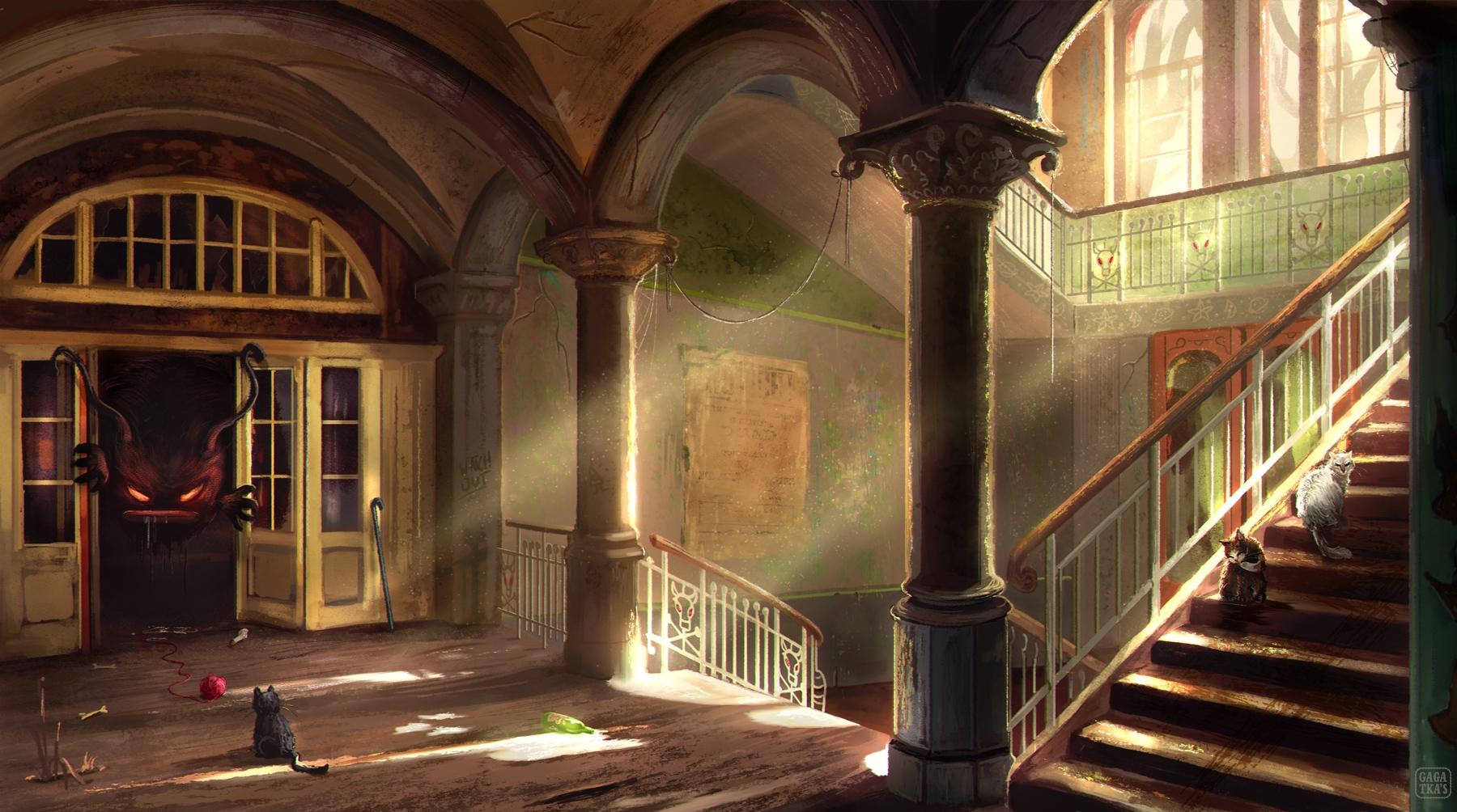 Haunted house :) Hope guys - ti - gagatka | ello