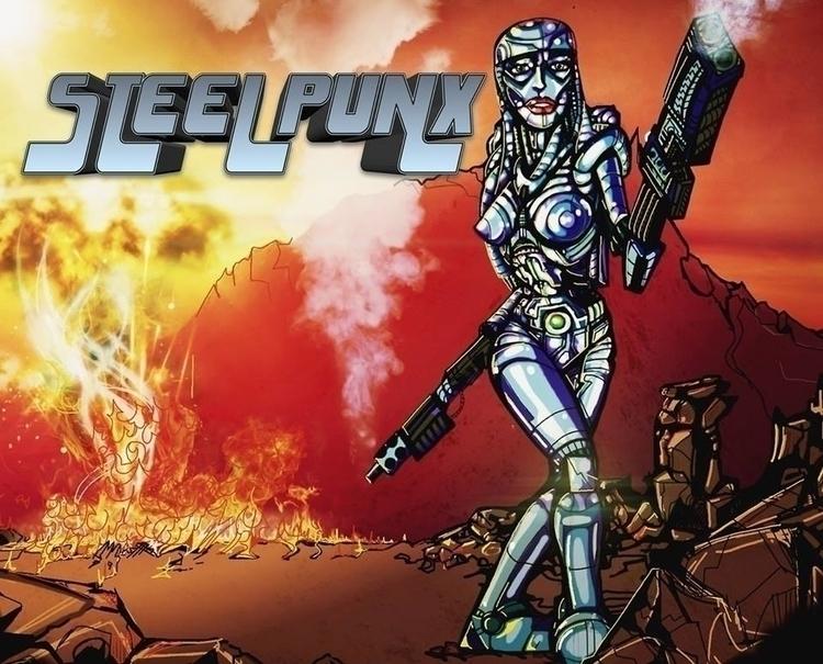 steel punx - robot, badass - jeremieduval | ello
