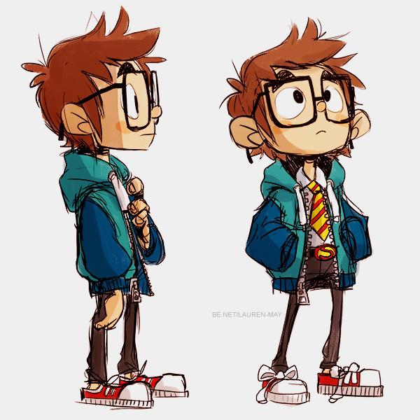 Eugene - characterdesign, nerd, digitalart - laurenmay-1325 | ello