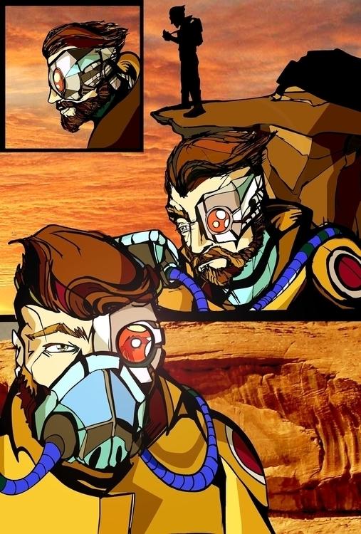 Steel Punx page - comics - jeremieduval   ello