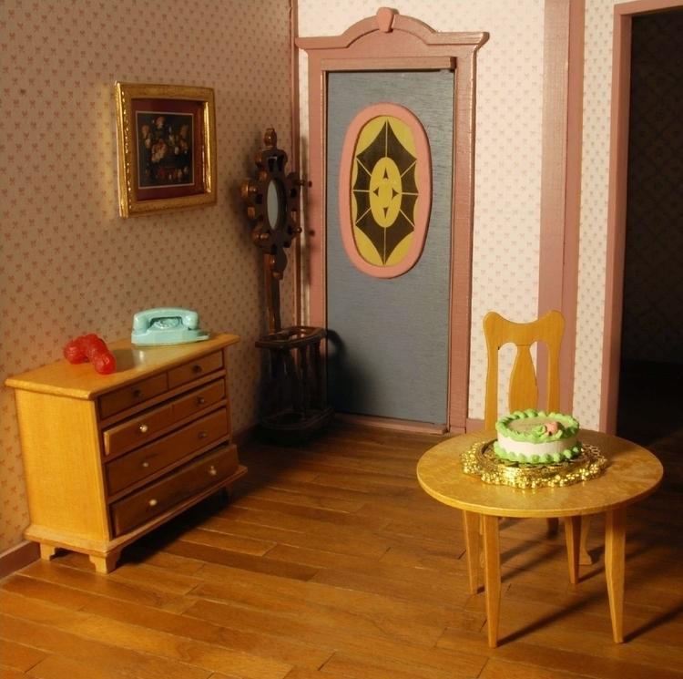 dollhouse, photography, cake - juliamazur | ello