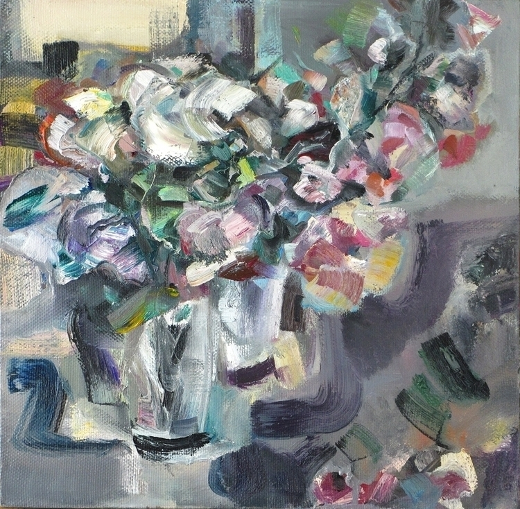 spring bouquet - painting - vladimirmishyra   ello