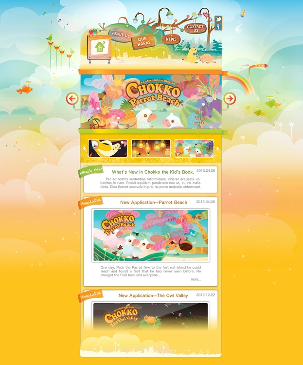 Website book applications - kids - katehuang | ello