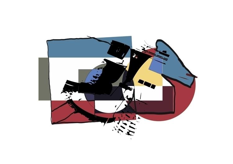 Mind Construction - illustration - daffkehollstein | ello