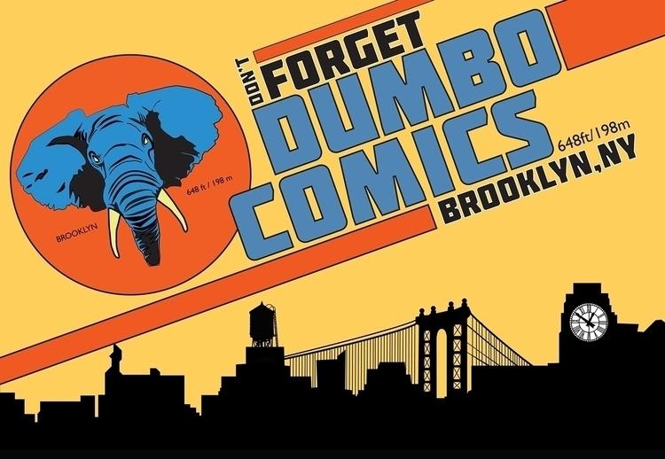 DUMBO COMICS - logo, logodesign - ryan_matta | ello