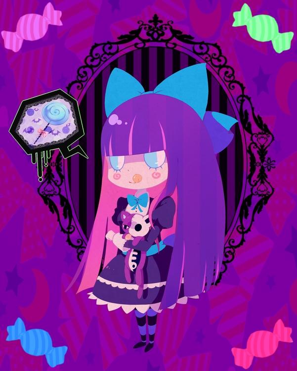 anime, pantyandstockingwithgarterbelt - princessmisery | ello