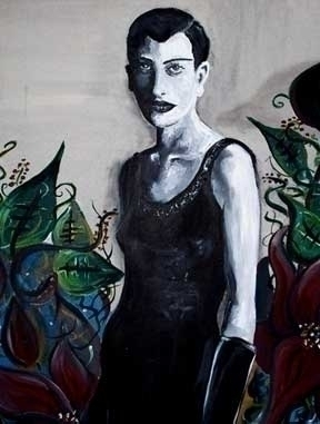Venus - blackandwhite, painting - catsnodgrass | ello