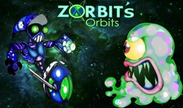 Zorbit Banner - zorbitsorbits, videogames - jeremieduval | ello