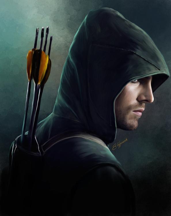 Arrow - arrow, olivequeen, greenarrow - elfpunk999 | ello