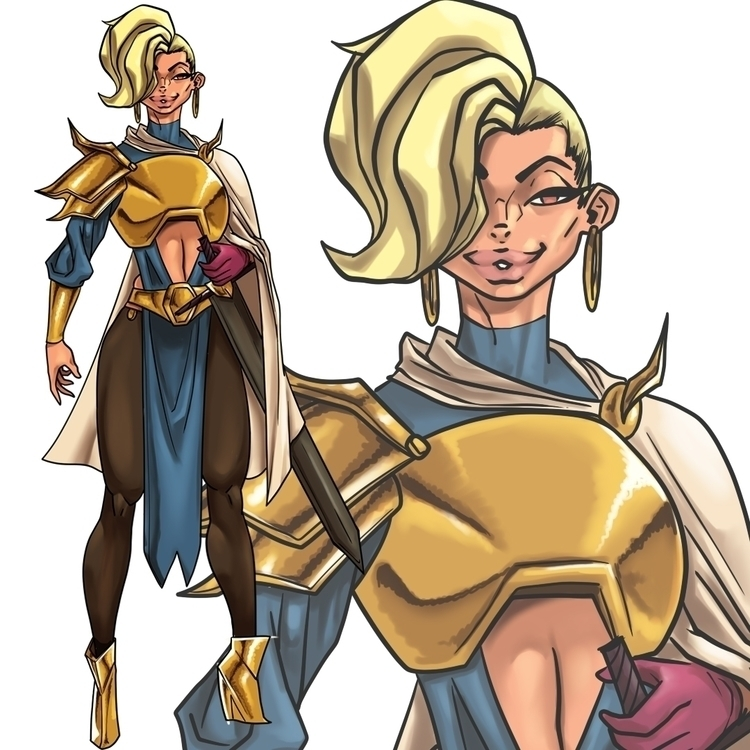 illustration, characterdesign - ghandourizm | ello