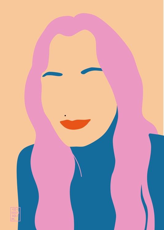 portrait friend - girl, friends - sonyakorshenboym | ello