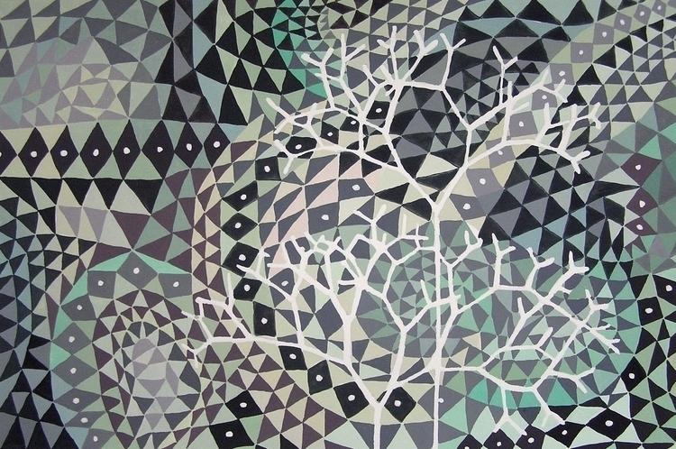 Obscurity, gouache, 2013. Inqui - studiobonnici | ello
