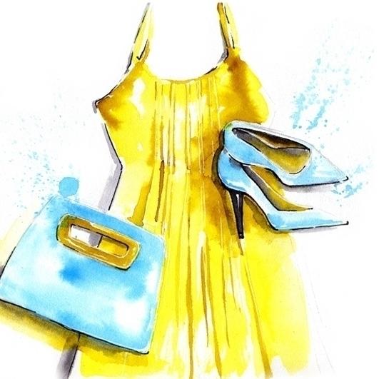 illustration, fashionillustration - mistakeann | ello