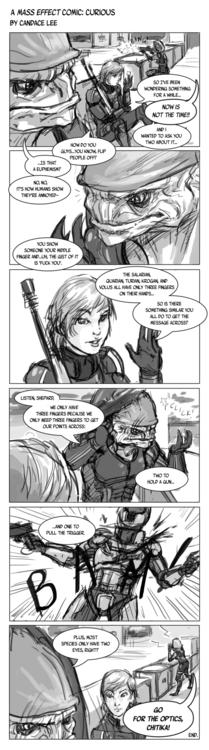 fan comic Mass Effect universe - candaceaprillee | ello