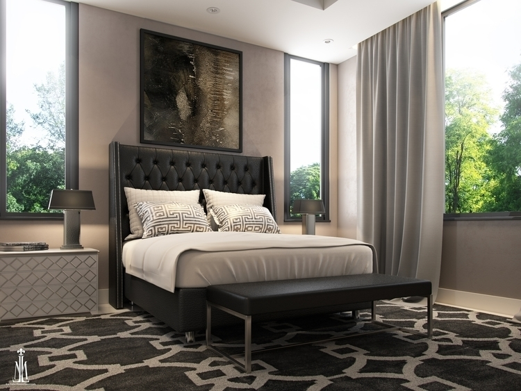 Guest room design - 3dart, architecturalvisualisation - arqmarenco | ello