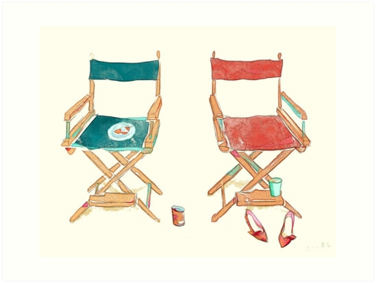 pieces life - chairs, illustration - aniark | ello