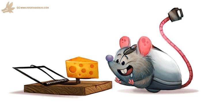 Daily Paint Computer Mouse - 1113. - piperthibodeau | ello