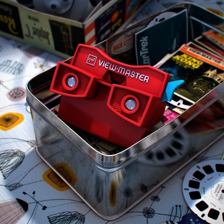 Viewmaster - 3dart, cgi, barcelona - curro-1143 | ello