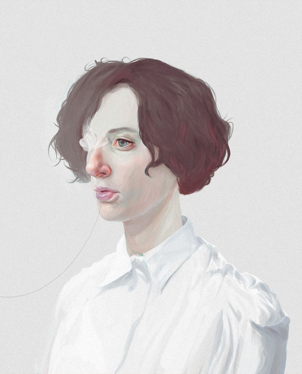 blanco - illustration, painting - devia | ello