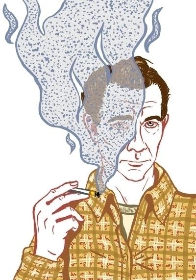 Jack Kerouac portrait - jackkerouac - kaytiespellz | ello