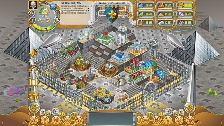 Gigantz 2 - vector, gameart, gamedev - tatyana_pro | ello
