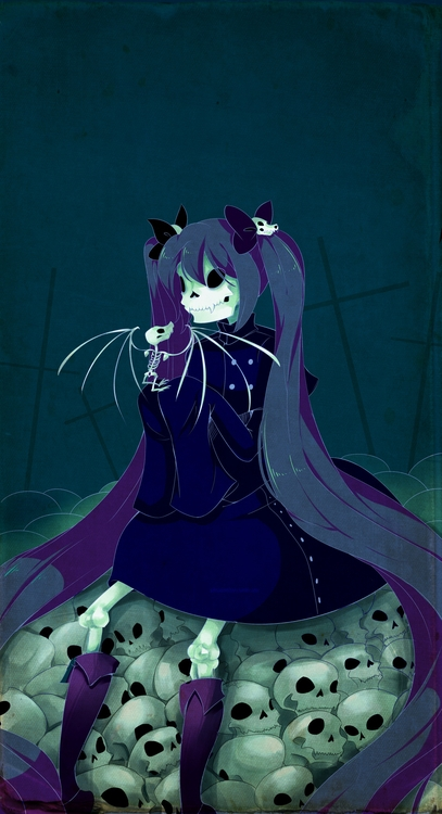 remains day - illustration, vampire - princessmisery   ello