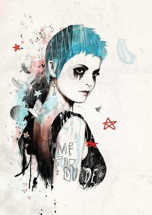 illustration, drawing, fashion - bungodesign | ello