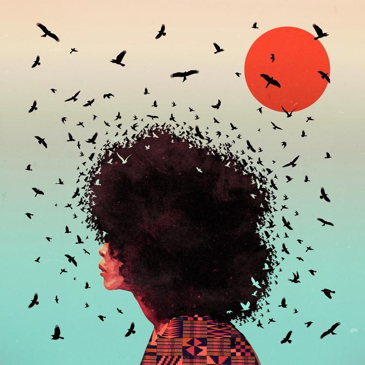 Erykah - erykah, strong, women, afro - kaikoo-1074 | ello