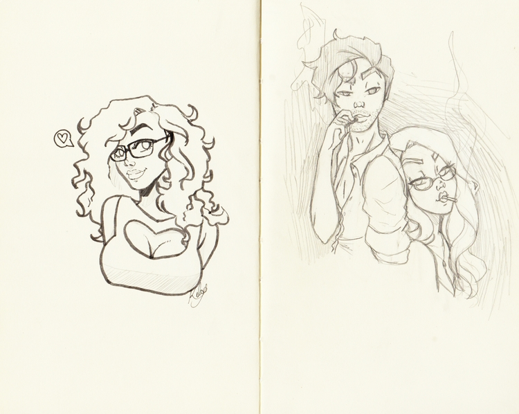 sketchbook - kelsonouveau | ello
