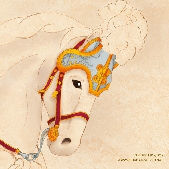 Horse calendar illustration - digitalart - litnat | ello