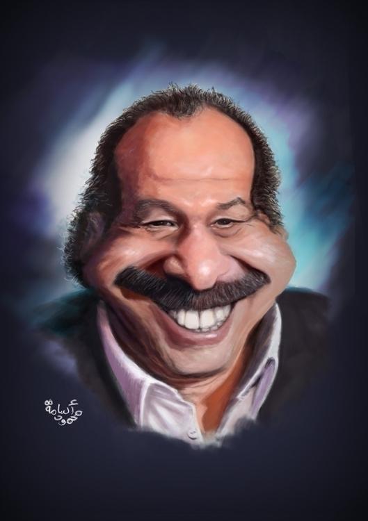 Khaled Saleh - illustration, painting - mahmoudosama-1421 | ello