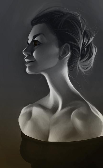 grey, silver, portrait, portraiture - emilyjulstrom | ello