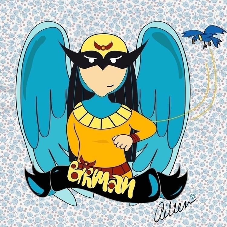 BirdMan - Marvel - fanart, illustration - aileencopyright | ello