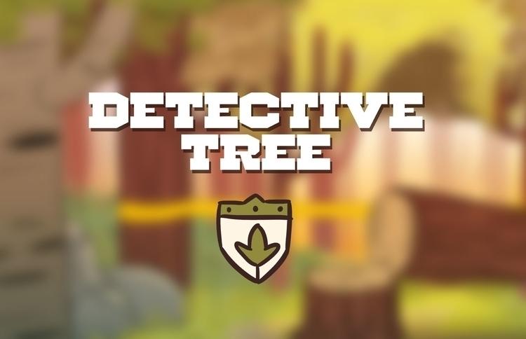 DETECTIVE TREE TITLE - animation - coltonbalske | ello
