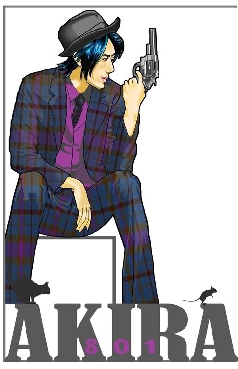 Takeshi Ikeda, Yakuza Madman Ya - akira69 | ello