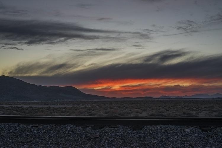 tracks - photography, railroad, sunset - frankfosterphotography | ello