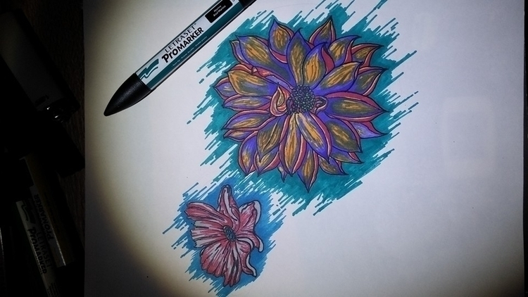 Psy Flowers - pavlospapadopoulos   ello