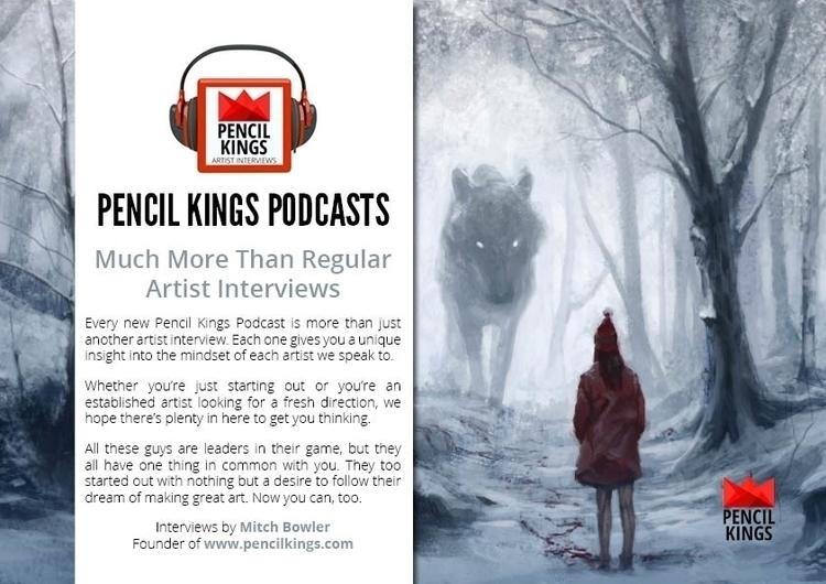 Pencil Kings podcast - christoff3000-1340 | ello